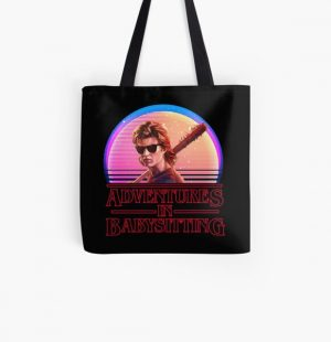 Adventures In Babysitting All Over Print Tote Bag RB3004product Offical Stranger Things Merch