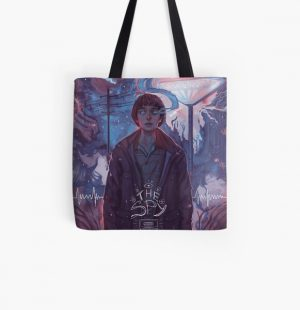 Stranger Things - The Spy All Over Print Tote Bag RB3004product Offical Stranger Things Merch