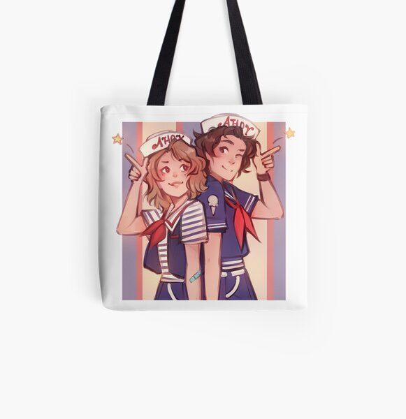 Scoops Ahoy All Over Print Tote Bag RB3004product Offical Stranger Things Merch