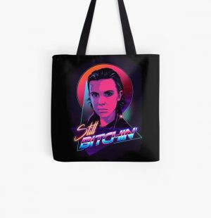 Eleven is Still Bitchin All Over Print Tote Bag RB3004product Offical Stranger Things Merch