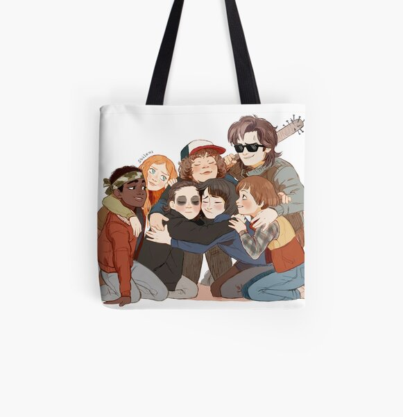 big hug All Over Print Tote Bag RB3004product Offical Stranger Things Merch
