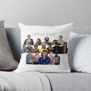 Stranger Things Character Print Throw Pillow RB3004product Offical Stranger Things Merch