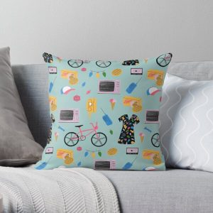 Stranger Things Pattern  Throw Pillow RB3004product Offical Stranger Things Merch