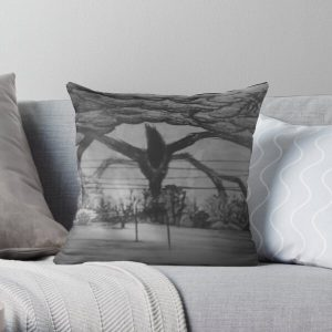 The Mind Flayer Drawing - Stranger Things 2 Throw Pillow RB3004product Offical Stranger Things Merch