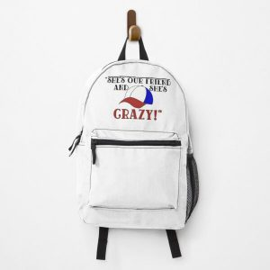 """She's Our Friend And She's Crazy!"""" Backpack RB3004product Offical Stranger Things Merch"""