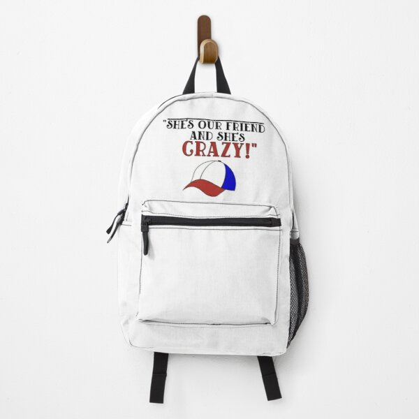 """""""She's Our Friend And She's Crazy!"""" Backpack RB3004product Offical Stranger Things Merch"""