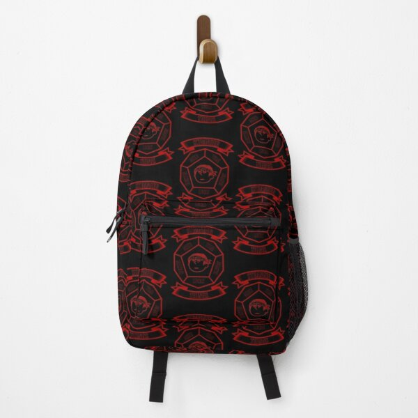 STRANGER THINGS 3: LUCAS PEANUTS (BLACK VERSION) Backpack RB3004product Offical Stranger Things Merch