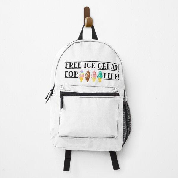 Free Ice Cream For Life-Erica  Backpack RB3004product Offical Stranger Things Merch