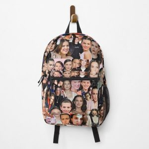 Millie Bobby Brown Collage Backpack RB3004product Offical Stranger Things Merch