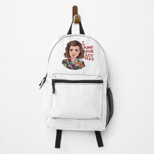 I Dump Your Ass Backpack RB3004product Offical Stranger Things Merch