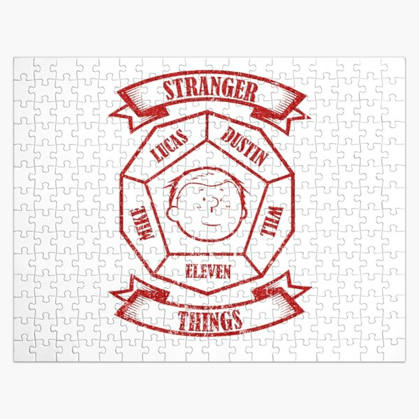 STRANGER THINGS 3: ELEVEN PEANUTS (WHITE) GRUNGE STYLE Jigsaw Puzzle RB3004product Offical Stranger Things Merch