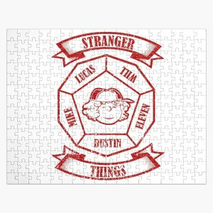 STRANGER THINGS 3: DUSTIN PEANUTS (WHITE) GRUNGE STYLE Jigsaw Puzzle RB3004product Offical Stranger Things Merch