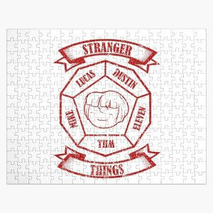 STRANGER THINGS 3: WILL PEANUTS (WHITE) GRUNGE STYLE Jigsaw Puzzle RB3004product Offical Stranger Things Merch