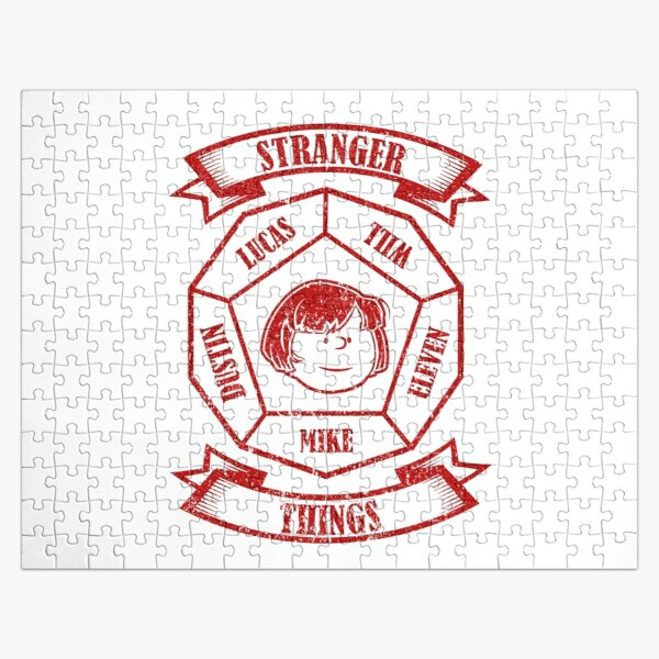 STRANGER THINGS 3: MIKE PEANUTS (WHITE) GRUNGE STYLE Jigsaw Puzzle RB3004product Offical Stranger Things Merch