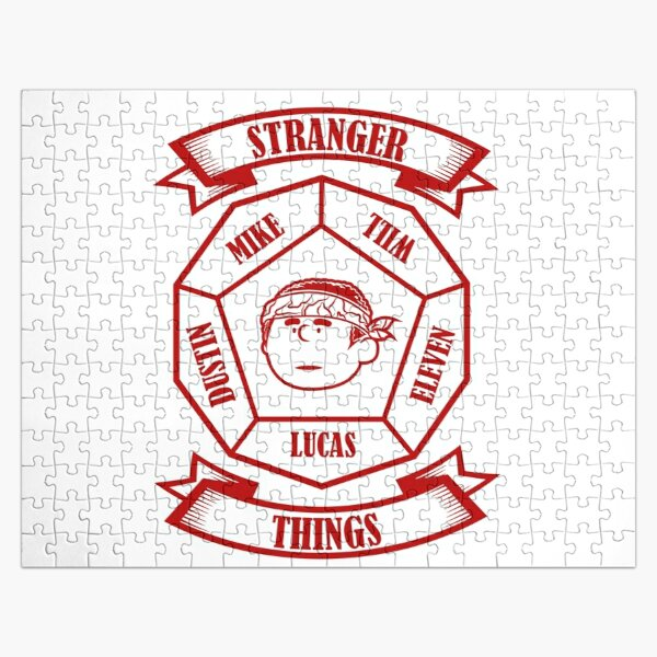 STRANGER THINGS 3: LUCAS PEANUTS (WHITE VERSION) Jigsaw Puzzle RB3004product Offical Stranger Things Merch