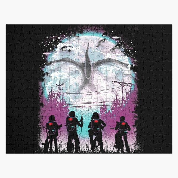 Stranger Things There's Something Strange T-Shirt Jigsaw Puzzle RB3004product Offical Stranger Things Merch