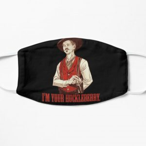 Doc Holliday - I'm your Huckleberry  Flat Mask RB3004product Offical Stranger Things Merch
