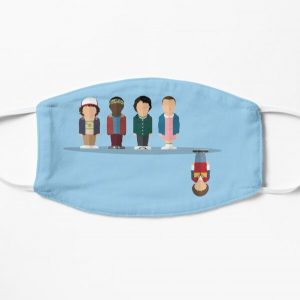 The Upside Down Flat Mask RB3004product Offical Stranger Things Merch
