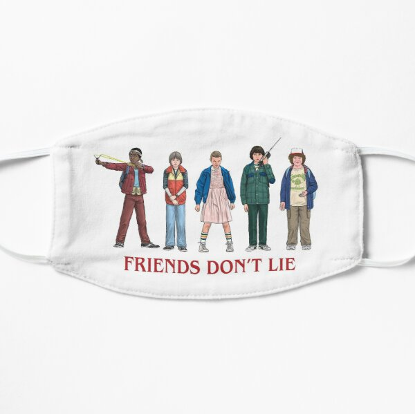 FRIENDS DON'T LIE - 2016 Flat Mask RB3004product Offical Stranger Things Merch