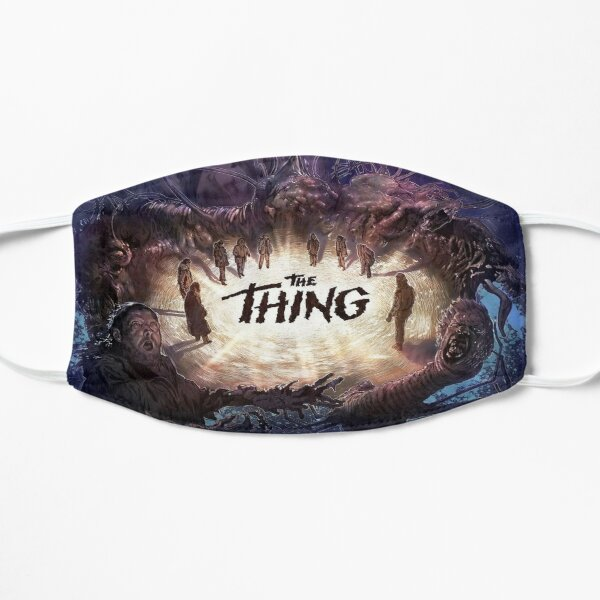 The Thing Movie Poster Flat Mask RB3004product Offical Stranger Things Merch