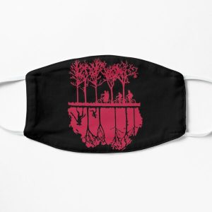 The Upside Down World Flat Mask RB3004product Offical Stranger Things Merch