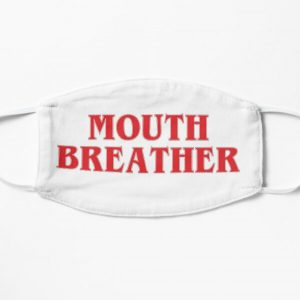 Mouth Breather  Flat Mask RB3004product Offical Stranger Things Merch