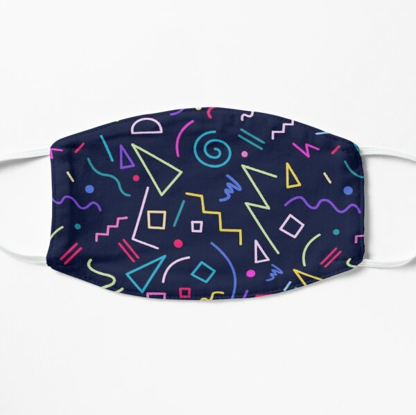 Geometric pattern, Flat Mask RB3004product Offical Stranger Things Merch
