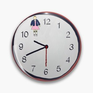 Eleven O'Clock Pin RB3004product Offical Stranger Things Merch