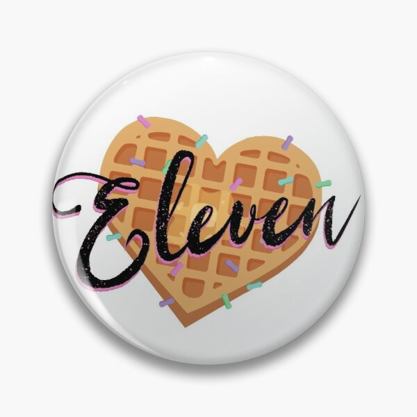 Eleven Stranger Things Pin RB3004product Offical Stranger Things Merch