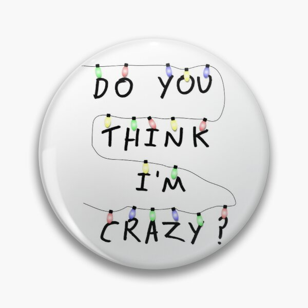 Stranger questions Pin RB3004product Offical Stranger Things Merch