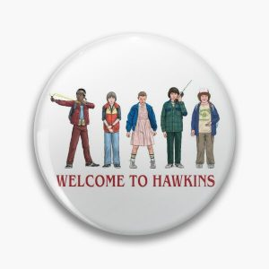 WELCOME TO HAWKINS - 2016 Pin RB3004product Offical Stranger Things Merch