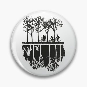 The Upside Down World Pin RB3004product Offical Stranger Things Merch